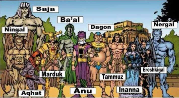 Mesopotamian gods