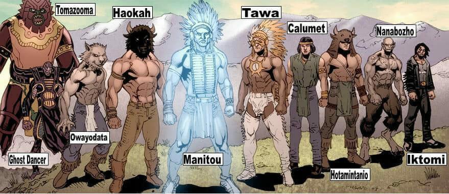 Native american gods
