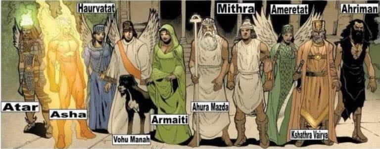Persian gods