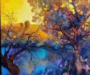 Anastasia trusova tree artwork
