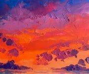 Anastasia trusova sunset artwork