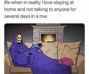 Introvert complaining they have no social life