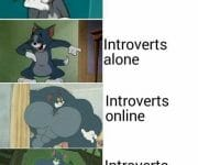 Introverts in their imagination