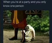 When you only know one person