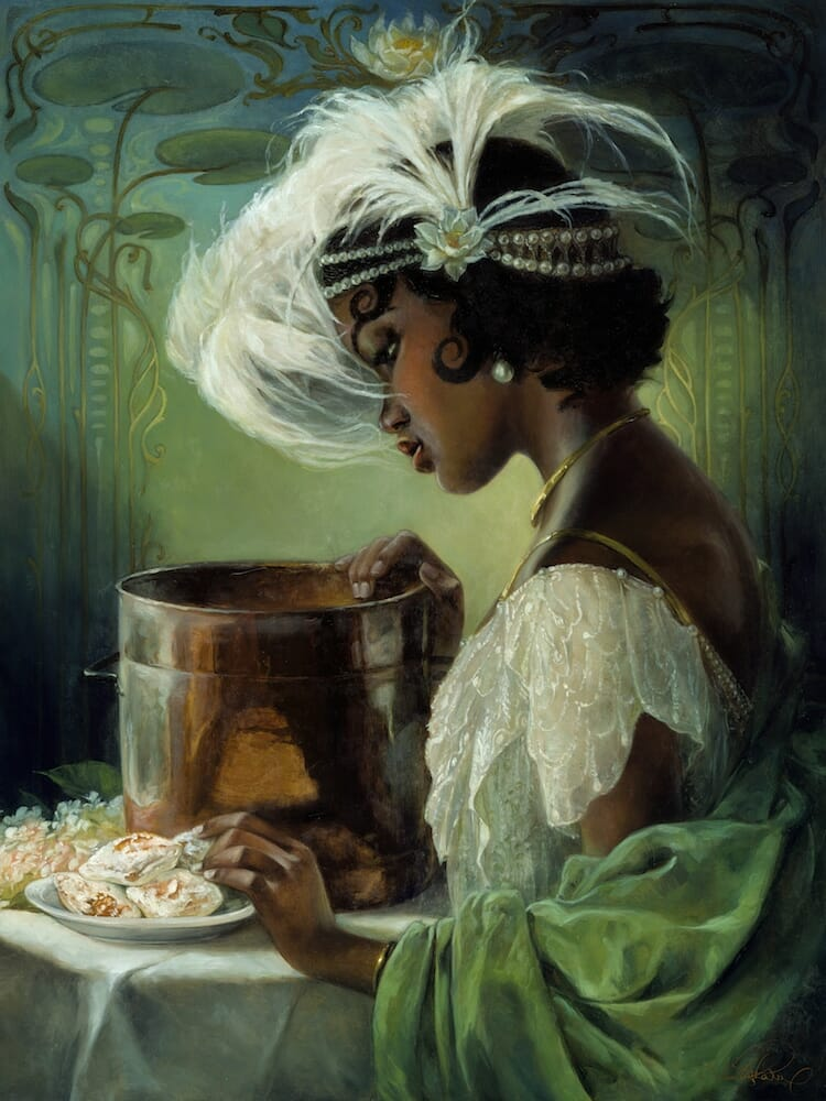 Disney characters oil paintings heather theurer 12