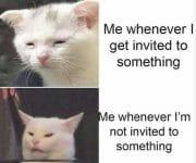 Introvert invitations