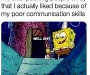 Introvert pushing people away because of poor communication skills