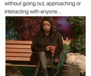 Introvert trying to meet the right person without going out, approaching or interacting with anyone